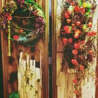 pannelli per vetrina fiorista bianchi