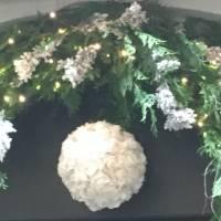 allestimento fiorista bianchi